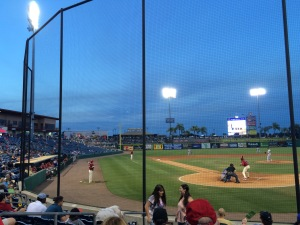 Bright House Field, home of the Clearwater Threshers and one of my favourite places.