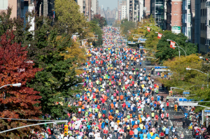 2014-New-York-Marathon-entry-First-Avenue